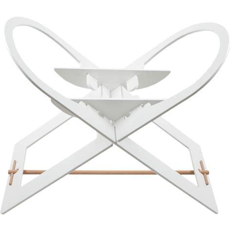 support de support de couffin blanc avec barre de support en bois 15 sur allob 233 b 233