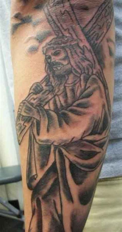 tattoo of jesus carrying the cross 25 inspiration jesus tattoos