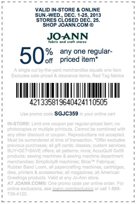 fabric depot printable coupon joann fabrics store coupons printable 2018 mid mo wheels