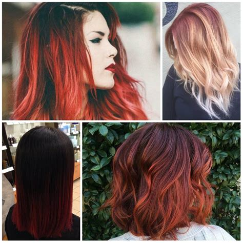 best hair color ideas trends in 2017 2018 page 2 photos ombre hair colours 2017 black hairstle picture