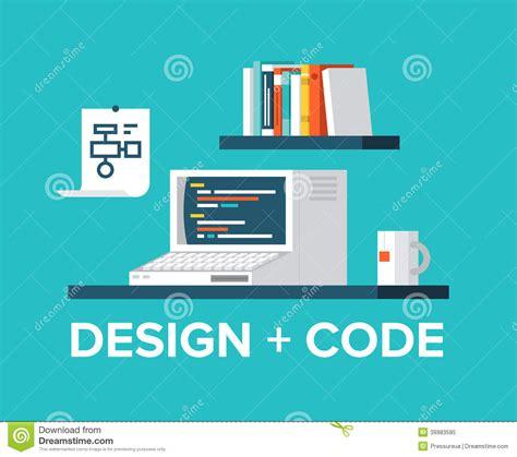 design code web programming and design with retro computer