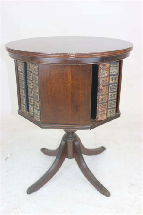 furniture masterpieces of duncan phyfe classic reprint books classic mahogany revolving bookcase with marquetry inlay