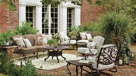 mobilier patio salon fer forge exterieur design exterieur am nagment