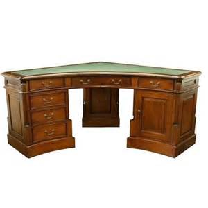 Corner Desk Wood Corner Pedestal Desk Akd Furniture