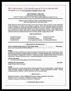 Sle Resume Child Care Worker by Care Worker Resume Sales Worker Lewesmr