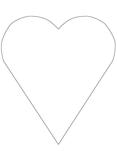 nice a heart template photos gt gt 3 heart template printable