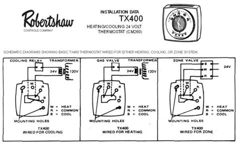 robertshaw thermostat wire diagram 28 images wiring