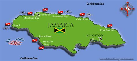 Jamaican Finder Jamaica Dive Diving Information Dive Centers