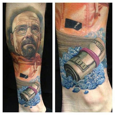 heisenberg tattoo breaking bad tattoos bad