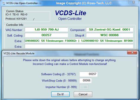 Ross Tech Vcds Lite Manual Coding