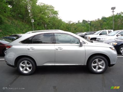 silver lexus rx 350 silver lining metallic 2013 lexus rx 350 awd exterior