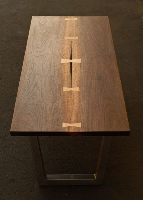dovetail coffee table walnut dovetail coffee table furniture