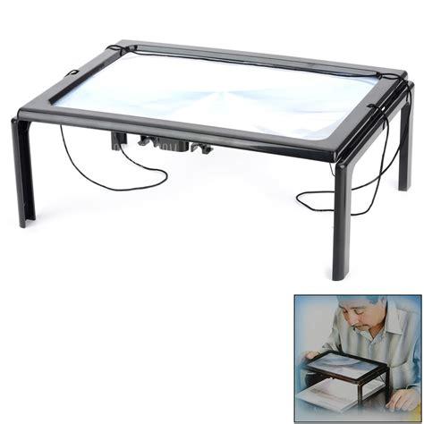 lupa escritorio lupa de escritorio con aumento 3x y luz led por 6 31