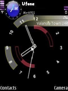 themes dark clock download black clock nokia theme mobile toones