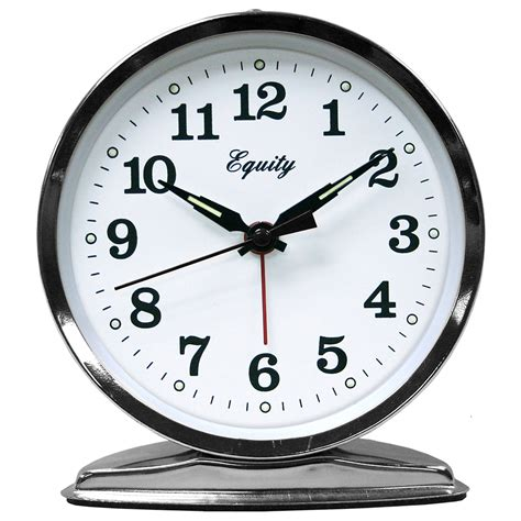 equity  la crosse wind  loud bell alarm clock ebay