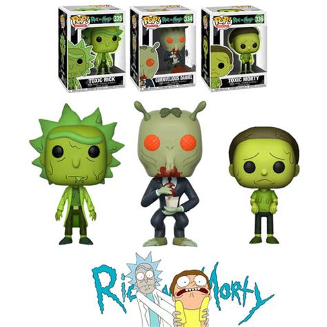 Dijamin Funko Pop Animation 68 funko pop animation rick and morty series 3 bundle 3