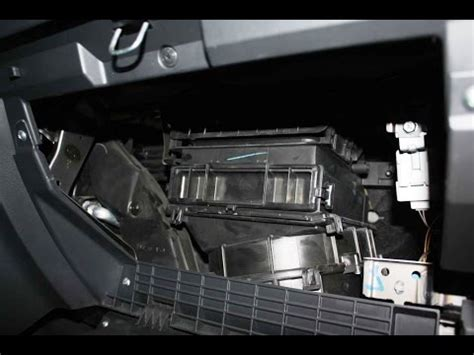replace cabin air filter  fiat sedici youtube