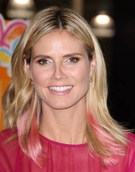 What Colour Is Heidi Klum S Hair | heidi klum new hair color 2012 stylish eve