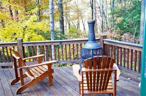 Chiminea On Deck Cabin For Sale In Blue Ridge Ga Real Estate