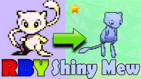 Shock Your Ds Lite Into Some Chrome by Transfering Glitch Shiny Mews From Pok 233 Mon Rby To Pok 233 Mon