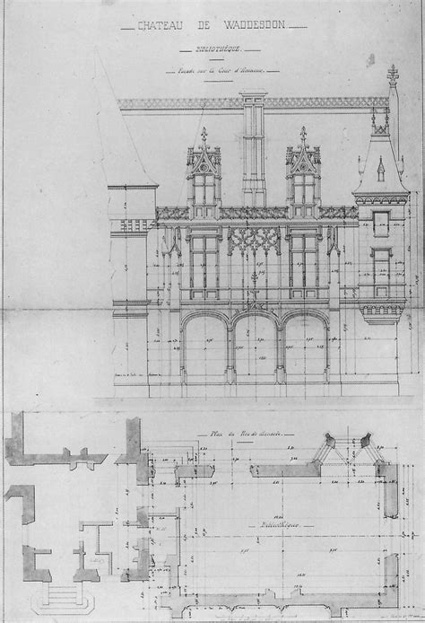 waddesdon manor floor plan detail of ground floor plan of 101 best waddesdon manor images on pinterest