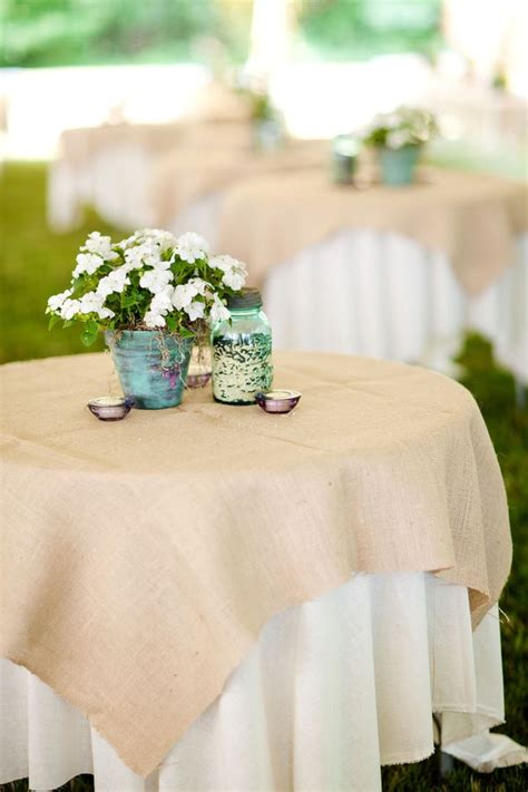 restaurant table cloth ideas best 25 burlap tablecloth ideas on mint