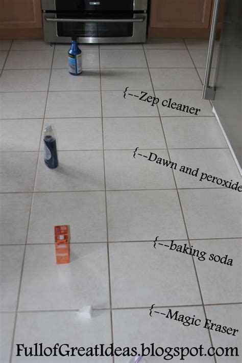 bathroom floor grout cleaner the absolute best way to clean grout 4 methods tested 1