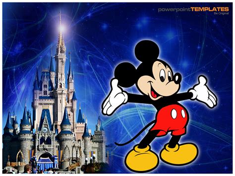 3d Powerpoint Presentation Slide World Walt Disney Powerpoint Template