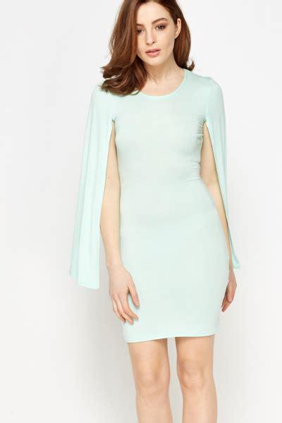 Minidress Cape mint cape sleeve mini dress just 163 5