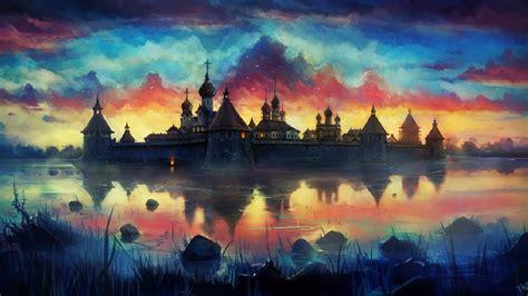Landscape Artists Buildings Castle Building Artwork Landscape City Cities