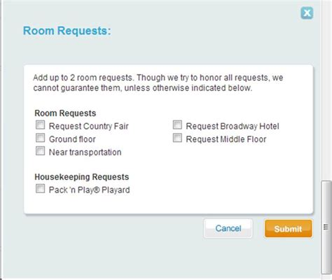 room request review disney s all resort