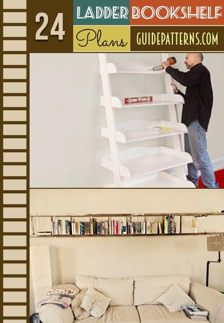 ladder bookcase plans 24 ladder bookshelf plans guide patterns