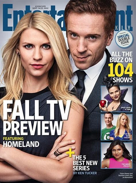 entertainment weekly fall tv preview ew magazine cover september 2012 homeland photo