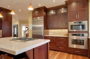 white and cherry kitchen cabinets best granite countertops for cherry cabinets the