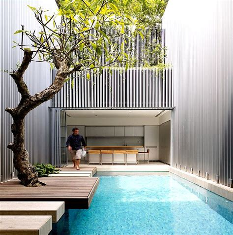 house with pools furniture small minimalist house design with swimming