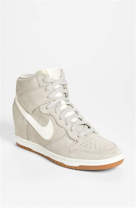Nike Wedges White nike sky high wedge white
