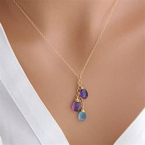 8 Necklaces To Give To Your by Personalized Children Birthstone