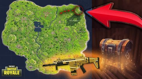 fortnite locations best chest loot run 9 chests fortnite battle royale
