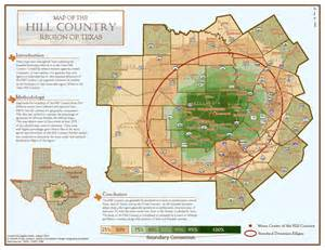 where is the hill country the geography