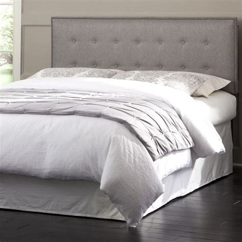 gray king headboard fashion bed easley king california king upholstered