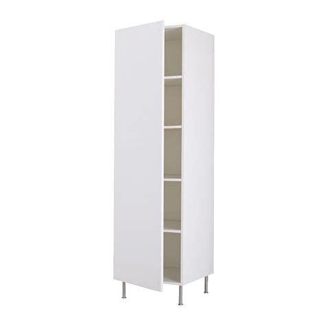 White Armoire With Shelves Faktum High Cabinet With Shelves H 228 Rlig White 40x211 Cm