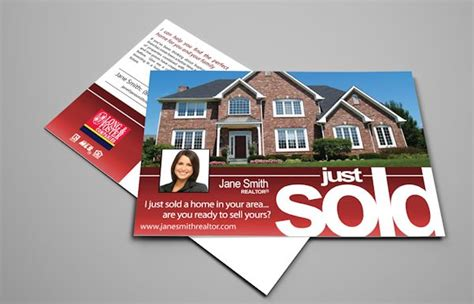 long foster real estate postcards realty cards printing
