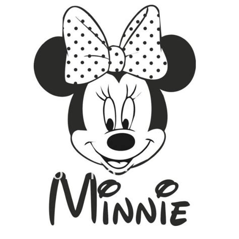 Personalised Bedroom Wall Stickers free shipping home decor minnie mouse personalised name