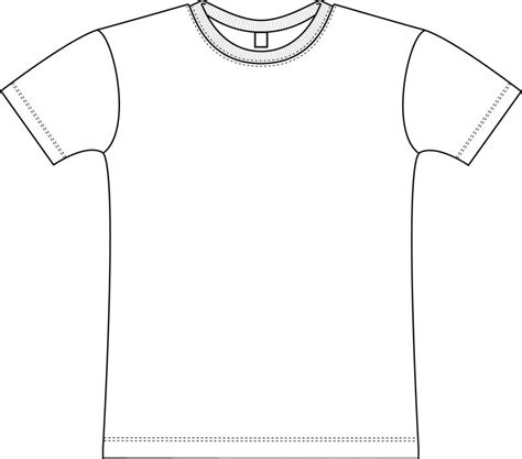 t shirt pattern to color free pattern tshirt coloring pages