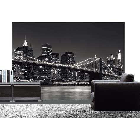 mod鑞e cuisine 駲uip馥 leroy merlin poster de mur york skyline deco wall l 366 x h 254