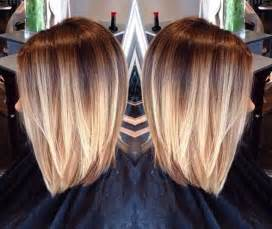 forty hairstyles with ombre color 40 blonde and dark brown hair color ideas hair