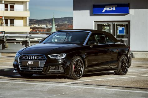 Audi A3 Cabrio Tuning by Audi S3 Cabrio By Abt Is An Rs3 In Disguise