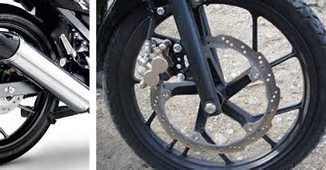 As Roda Depan Kawasaki Z900 Evotech ini alasan kenapa piringan cakram roda depan dibuat lebih besar dari roda belakang otoproid