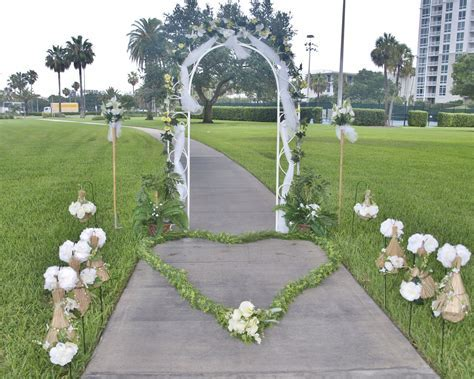 Very Cheap Weddings Decoration in Florida, Clearwater