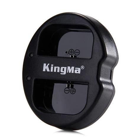 Kingma Bm015 Lpe6 Dual Charger For Canon Lp E6 kingma bm015 lpe6 dual 2 channel battery charger